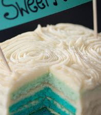 Sweet Passion Ombre Cake