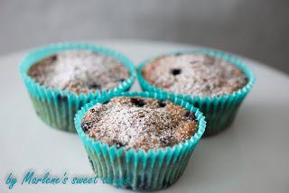 Blueberry-Mudmuffins