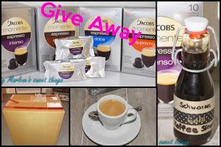 JAKOBS momente, Kaffeesirup und Give Away