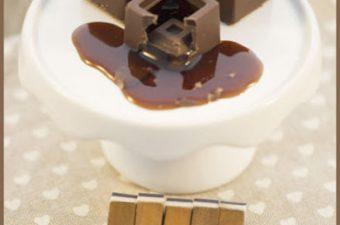 Kaffeepralinen mit flüssigem Kern