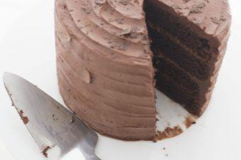 Schokoladen-Espressotorte