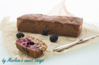 Brombeer – Limetten Cake