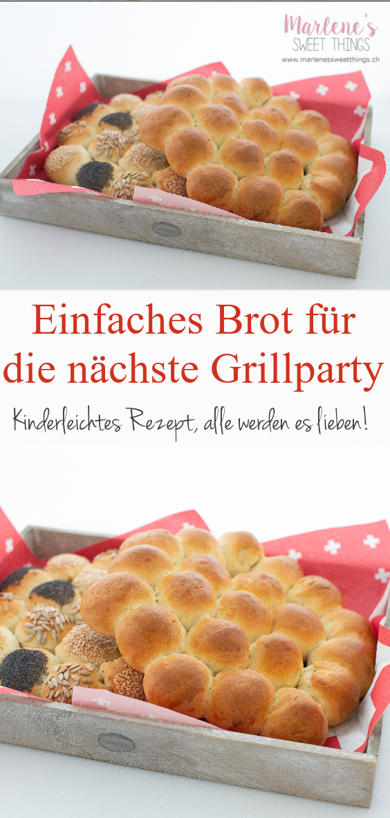 Party Brot für das nächste BBQ