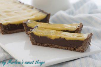 Passionsfrucht-Schokoladen Tarte