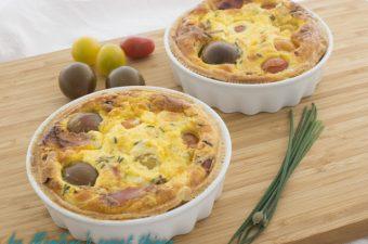 Tomaten – Creme Fraiche Tartelettes