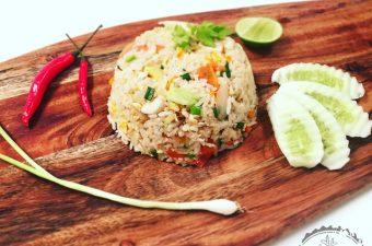 {Around the world} Gebratener Reis mit Poulet von Jacky bakes