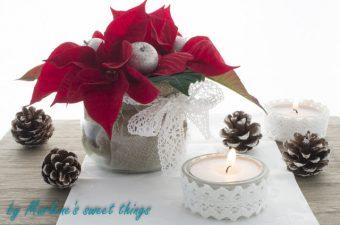 {Werbung} Weihnachtsstern Tischdekoration