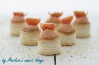Tomaten-Mousse Mini-Pasteten