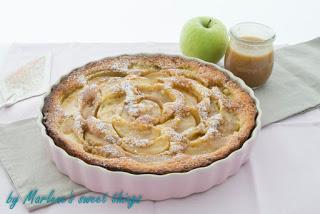 Apfel-Karamell Kuchen