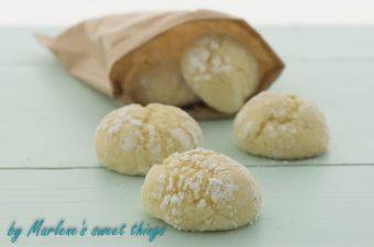 Lemon crakle cookies