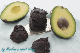 Schoko Avocado Cookies