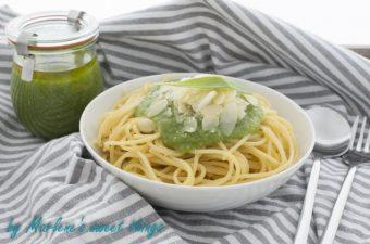 Bärlauch-Mandel Pesto