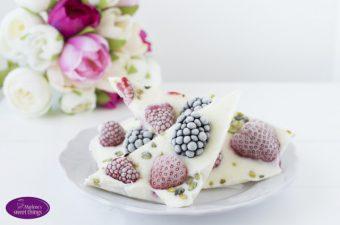 {Eis-Montag} Frozen Yogurt Berry Bites – Gefrorene Joghurt Ecken