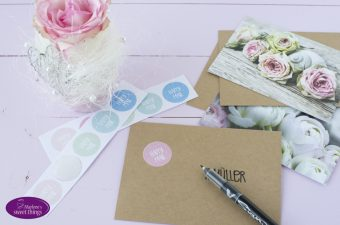 Happy Mail Sticker und Stempel
