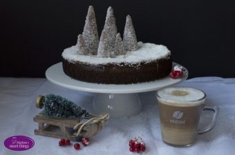 {WERBUNG} Coffee-Brownies Winterwald