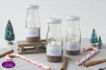 Geschmolzener Schneemann-Kakao