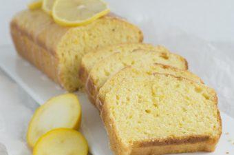 Zitronen Zucchini Cake