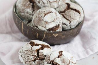 Chocolate Crakle Cookies