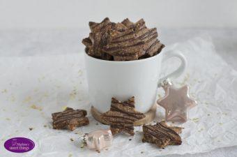 {Werbung} gesunde Zimtsterne mit SteviaSweet