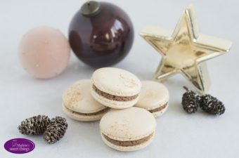 Lebkuchen Macarons bei Sugarprincess Christmas Cookie Club 2017