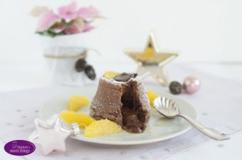 {Werbung} Warme Schokoladenküchlein mit flüssigem Kern