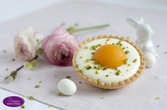 Spiegeleier-Tartelettes mit Sauermilch-Quark-Creme