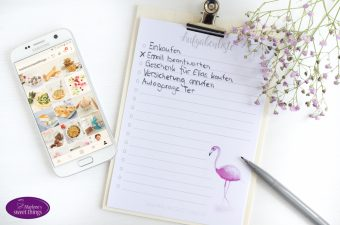 Flamingo Aufgabenliste Printable