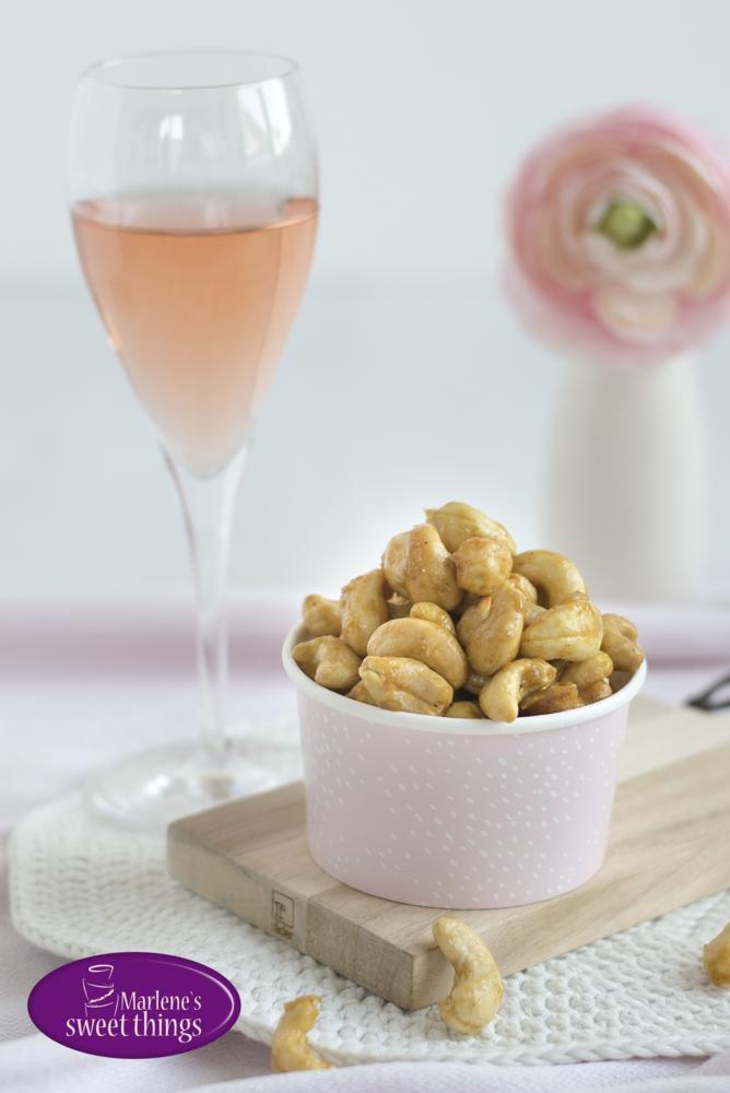 Honig-Gewürz Cashews 4
