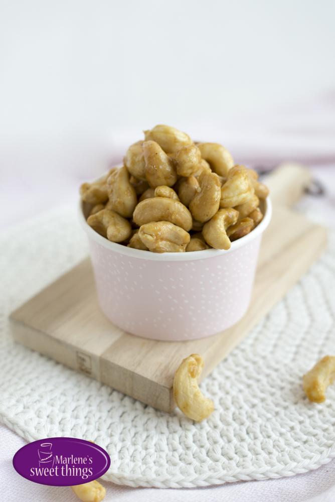 Honig- Gewürz Cashews 2