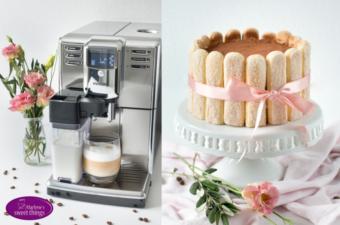 Tiramisu Torte und Philips Kaffeevollautomat
