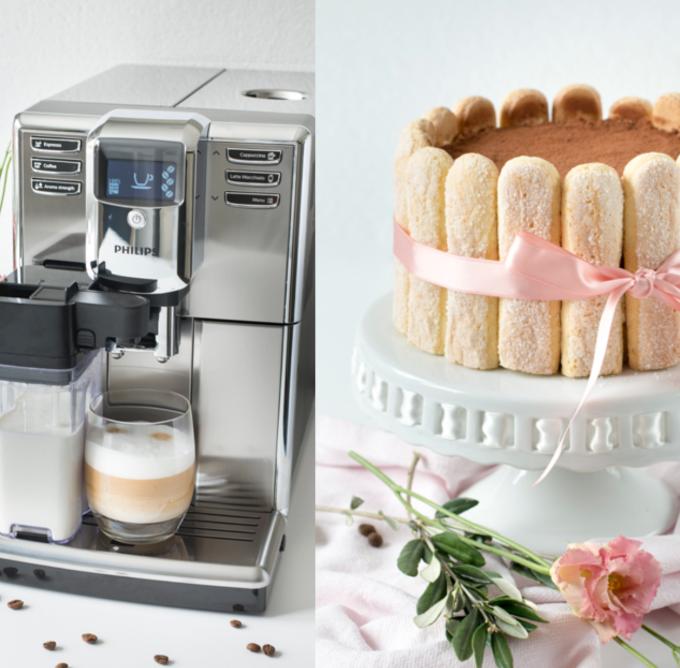 Tiramisu Torte und Philips Kaffeevollautomat16