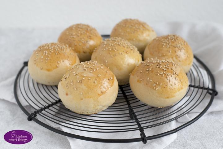 Dinkel Hamburger Buns