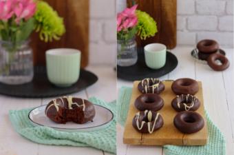 Schokoladendonuts