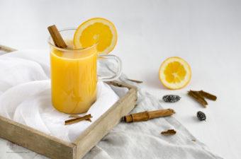 Alkoholfreier Orangen Weihnachtspunsch – Blogging under the misteltoe