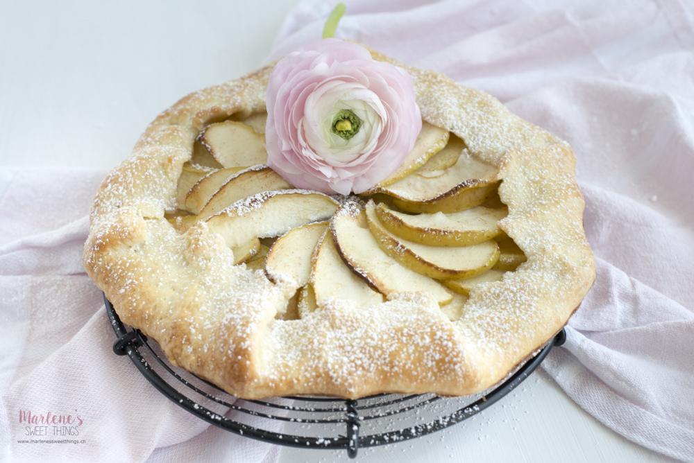 Apfel Galette