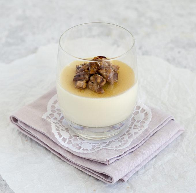 Honig Joghurt Panna Cotta