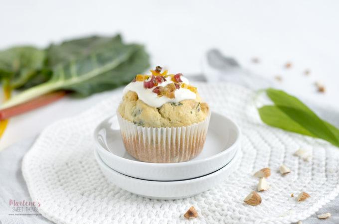 Bärlauch-Krautstiel-Ricotta Muffins