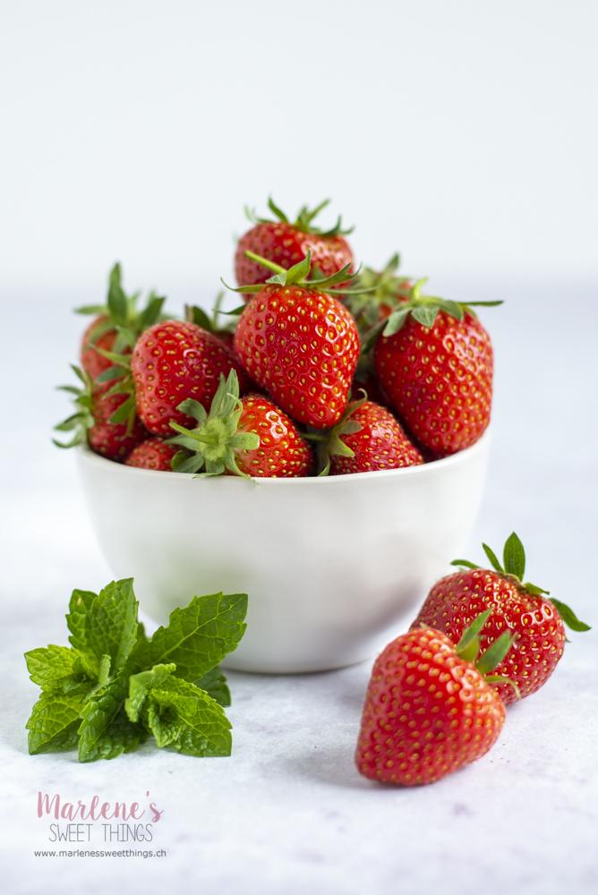 Erdbeer Pfefferminz