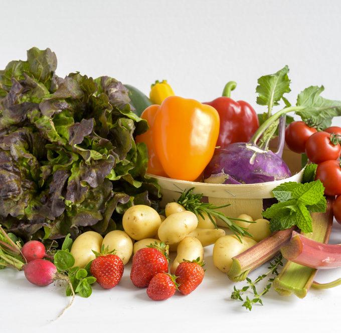 Gemüse und Früchte Saisonkalender Juni