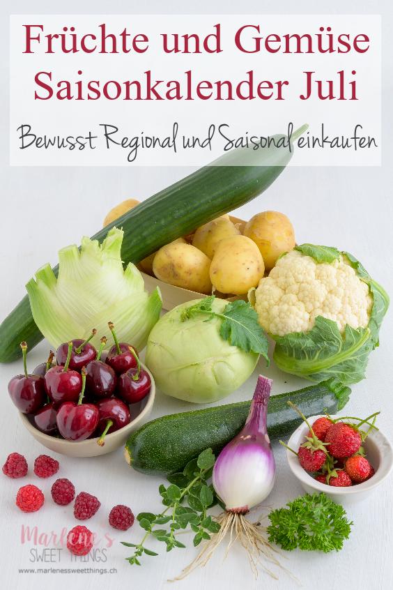 bewusst Saisonal und Regional einkaufen
