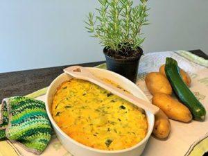 Frittata mit Zucchini und Kartoffeln